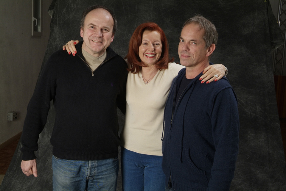 Gérard Thouret, Gloria Stetbay et Steve Forward